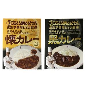三代目たいめいけん茂出木浩司シェフ監修 懐カレー&黒カレーセット 計10食×3セット