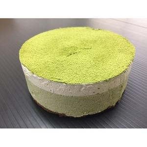 宇治抹茶ムースケーキ/業務用ケーキ 【4号】 直径約12cm 日本製 〔スイーツ デザート お取り寄せ〕