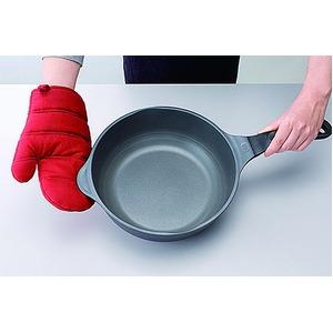 美虎のやる気鍋/片手鍋 【ガス用】 1台7役 内面フッ素樹脂加工 ガラス蓋・レシピ11品つき