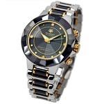 ソーラー電波時計/腕時計 【紳士用】 4石天然ダイヤモンド付き 『JON HARRISON』