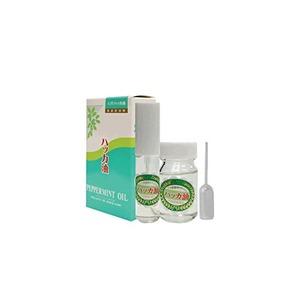 【2個セット】 天然ハッカ油スプレー 【詰替用セット】 天然ハッカ100% 日本製