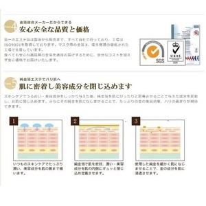 金華ゴールドエステ箔/金箔シートマスク 【24K 1/4サイズ 20枚入】 純金箔 日本製