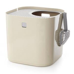 リターボックス/猫用トイレ 【タン】 シンプルモダン お手入れ簡単 『Modkat モデキャット』