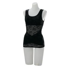 ドレスアップ姿勢フィットインナー ブラック LL~3L 商品画像