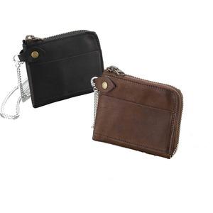 馬革ポケット財布 ブラック