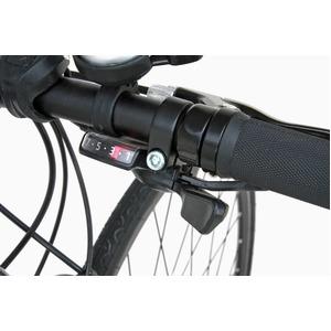 クロスバイク 700c(約28インチ)/レッド(赤) シマノ21段変速 アルミフレーム 軽量 重さ11.2kg 【VENUS】 ビーナス CAC-021