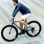 クロスバイク 700c(約28インチ)/ブラック(黒) シマノ21段変速 軽量 重さ11.2kg 【HEBE】 ヘーべー CAC-024