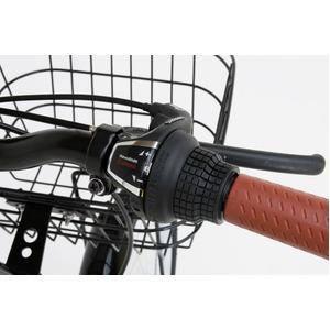 折りたたみ自転車 20インチ/アイボリー シマ...の紹介画像5