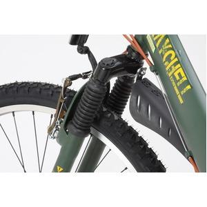 折りたたみ自転車 26インチ/オリーブ シマノ...の紹介画像3