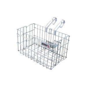 折りたたみ自転車カゴ 【SIDE-A】 FBO-001 シルバー(銀) 〔自転車パーツ/アクセサリー〕