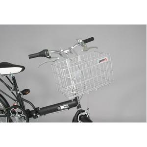 折りたたみ自転車カゴ 【SIDE-A】 FBO-001 シルバー(銀) 〔自転車パーツ/アクセサリー〕画像2