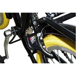 折りたたみ自転車 20インチ/オレンジ シマノ6段変速 【MIWA】 ミワ FD1B-206 - 拡大画像
