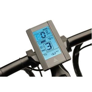 電動アシスト自転車 24インチ/ブラック(黒) 8段変速 アルミフレーム 【A2B】 エーツービー Hybrid/24 - 拡大画像
