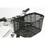 脱着式ATBバスケット(自転車カゴ) 【OGK】FB-005AX ブラック(黒) 〔自転車パーツ/アクセサリー〕