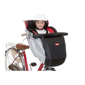 自転車カバー/ヘッドレスト付き前幼児座席用 風防レインカバー【OGK】 RCF-001 〔自転車パーツ/アクセサリー〕