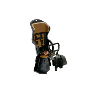 ヘッドレスト付き後ろ用子供乗せ(自転車用チャイルドシート) 【OGK】RBC-015DX ブラック(黒)/ブラウン - 拡大画像