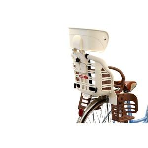 ヘッドレスト付きデラックス後ろ用子供乗せ(自転車用チャイルドシート) 【OGK】RBC-007DX3 アイボリー