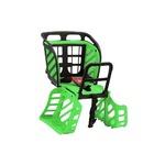 後ろ用子供乗せ(自転車用チャイルドシート) 【OGK】RBC-009S3 ブラック(黒)・グリーン(緑) 〔自転車パーツ/アクセサリー〕