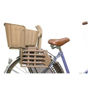 後ろ用子供乗せ(自転車用チャイルドシート) 【OGK】RBC-006N ライトグレー(灰) 〔自転車パーツ/アクセサリー〕
