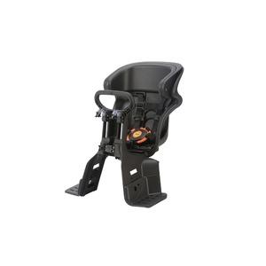 ヘッドレスト付きフロント子供乗せ(自転車用チャイルドシート) 前用 【OGK】FBC-011DX3 ブラック(黒)/ブラック(黒)