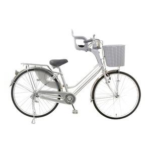 フロント子供乗せ(自転車用チャイルドシート) 前用 【OGK】FBC-003S2 Wグレー(灰) 〔自転車パーツ/アクセサリー〕