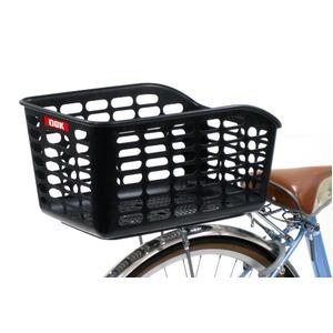 後ろ用バスケット(自転車カゴ) 大型/軽量 【OGK】RB-016 Mベージュ 〔自転車パーツ/アクセサリー〕