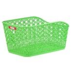 大型後ろ用バスケット(自転車カゴ) 固定式 【OGK】RB-012 M緑 〔自転車パーツ/アクセサリー〕
