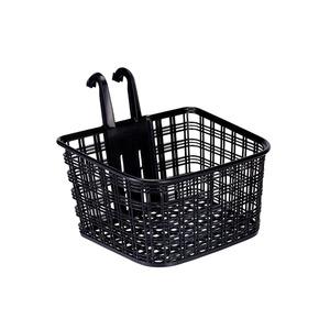 フロントバスケット(自転車カゴ)コンパクトタイプ前用/脱着式【OGK】FB-022ブラック(黒)〔自転車パーツ/アクセサリー〕