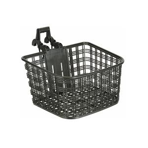 ATB/クロスバイク用バスケット(自転車カゴ) 脱着可 【OGK】FB-022X ガンメタ 〔自転車パーツ/アクセサリー〕