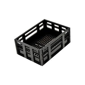 コンテナバスケット(自転車カゴ) 前/後ろ用 【OGK】SPB-001 ブラック(黒) 〔自転車パーツ/アクセサリー〕