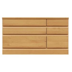 3段チェスト/ローチェスト 【幅90cm】 木製...の商品画像