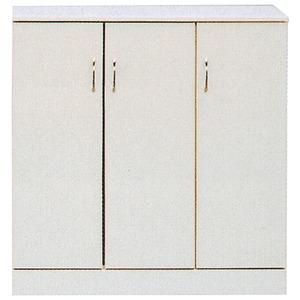 ローシューズボックス(下駄箱) 幅90cm×奥行38cm×高さ92cm 日本製 ホワイト(白)  【PLAZA2】プラザ2 【完成品 開梱設置】