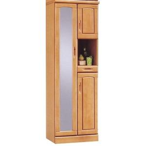 ハイシューズボックス(下駄箱) 幅60cm×奥行40cm×高さ180cm 木製 棚板付き 日本製 ナチュラル 【Horizon3】ホライゾン3 【完成品】