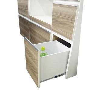 ダイニングボード(食器棚) 【板扉/上置き付き...の紹介画像5