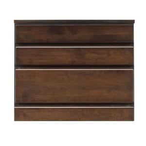 3段チェスト/ローチェスト 【幅60cm】 木製...の商品画像