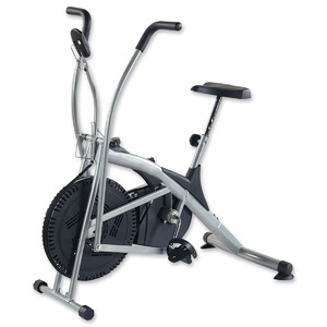 【上半身も同時に燃焼】フィットネスバイク / ダイエットバイク 軽量 健康器具 トレーニング 自転車 家庭用