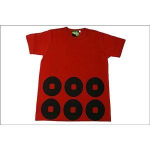 戦国武将Tシャツ 【真田幸村 六連銭】 XLサイズ 半袖 綿100% ワイン 〔メンズ 大きいサイズ Uネック おもしろ〕