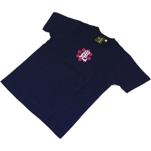 上杉謙信(復刻) Tシャツ 楽 XL 紺