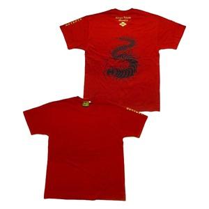 戦国武将Tシャツ 【武田信玄 復刻】 XLサイズ えんじ 半袖 綿100% 〔メンズ 大きいサイズ Uネック おもしろ〕