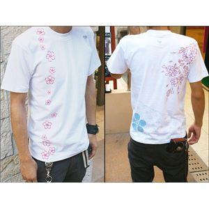 戦国武将Tシャツ 【前田慶次】 Mサイズ 半袖 綿100% ホワイト(白) 〔Uネック おもしろ〕 h02