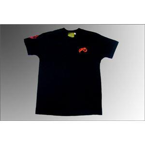 戦国武将Tシャツ 【織田信長 天下布武】 Mサイズ 半袖 綿100% ブラック(黒) 〔Uネック おもしろ〕 h02