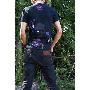 戦国武将Tシャツ 【前田慶次 髑髏と蓮】 XL...の紹介画像2