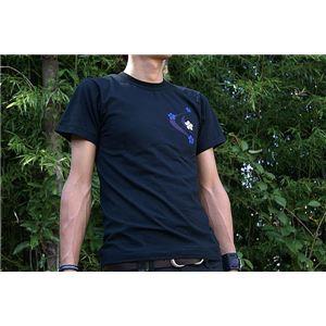 戦国武将Tシャツ 【前田慶次 髑髏と蓮】 XL...の紹介画像3