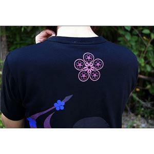 戦国武将Tシャツ 【前田慶次 髑髏と蓮】 XL...の紹介画像5