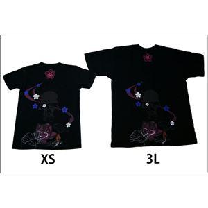 戦国武将Tシャツ 【前田慶次 髑髏と蓮】 XL...の紹介画像6