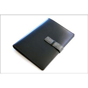 ColoreBorsa(コローレボルサ)パスポートケースブラックMG-005