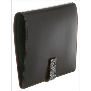 Colore Borsa(コローレボルサ) パスポートケース ブラック MG-005 h02