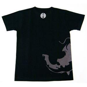 蒲生氏郷Tシャツ LW 黒 Mサイズ h02