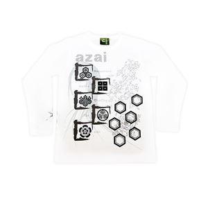 浅井家 長Tシャツ LW XS 白 h01