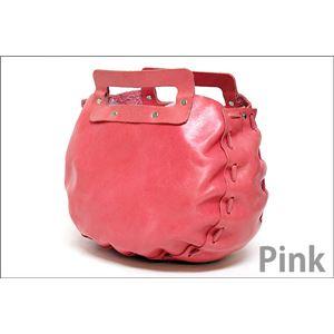 ★dean(ディーン) bowling bag ハンドバッグ ピンクの画像